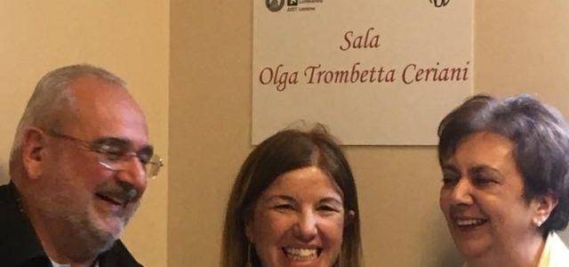 La sala intitolata a Olga Ceriani