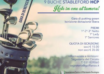 Hole in one al tumore!